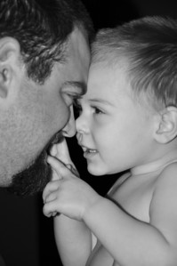 EJ and daddy BW
